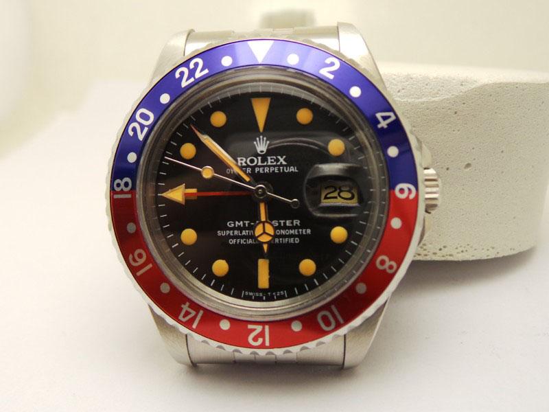 Rolex Vintage GMT Master 1675 Replica