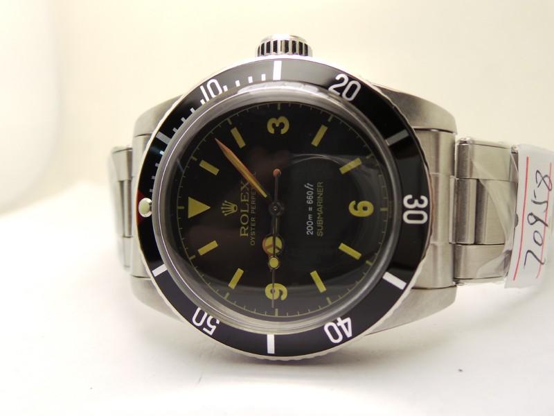 Submariner Black Bezel