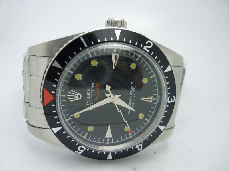 6541 Orange Triangle Mark on Bezel