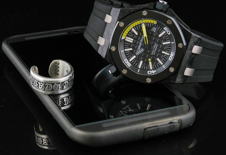 Audemars Piguet Forged Carbon Diver Replica