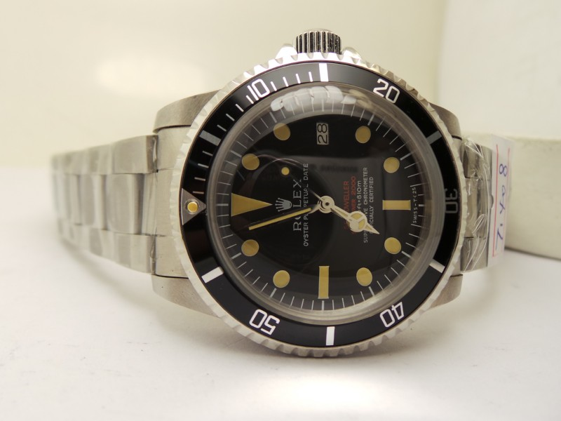 Black Bezel with Yellow Pearl