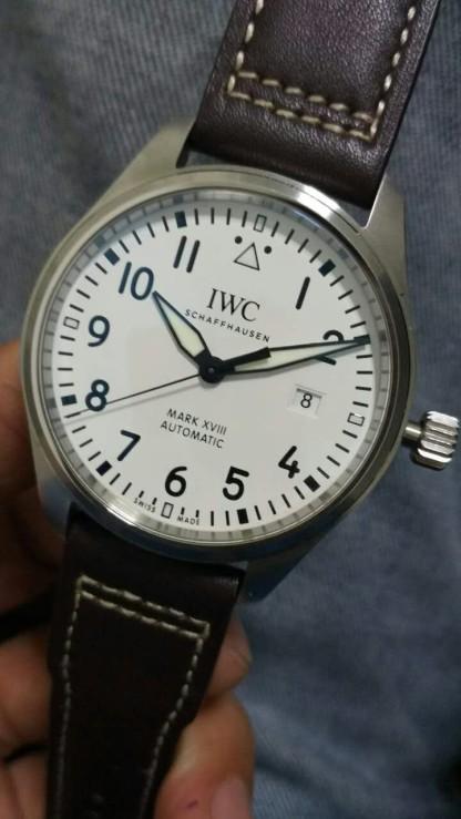 IWC Mark XVIII White Dial