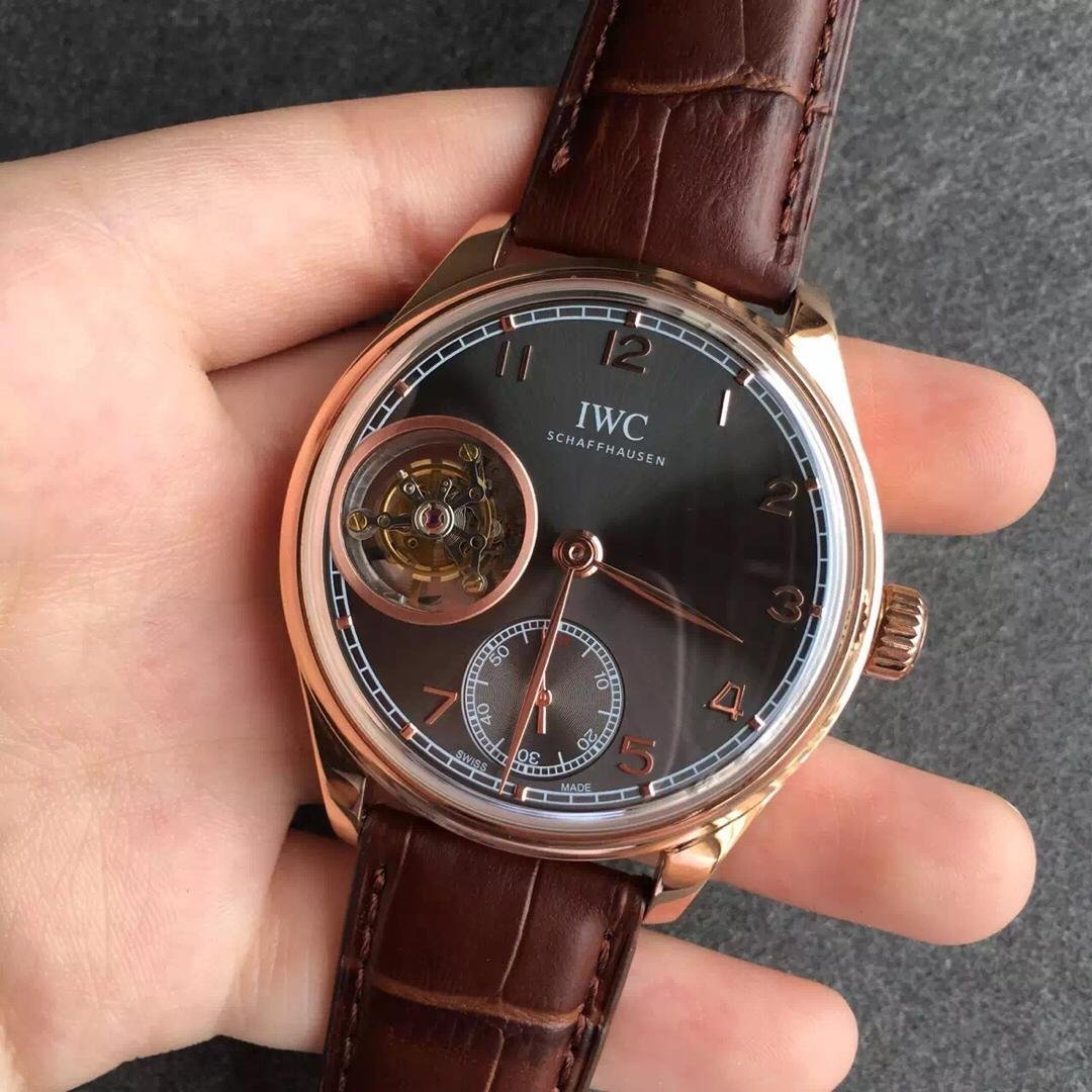IWC Portuguese Tourbillon Rose Gold Watch
