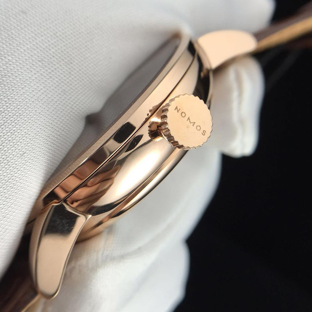 Nomos Rose Gold Crown