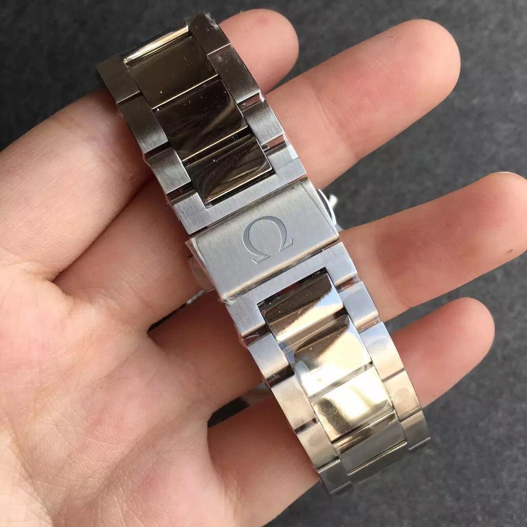 Omega Logo on Buckle
