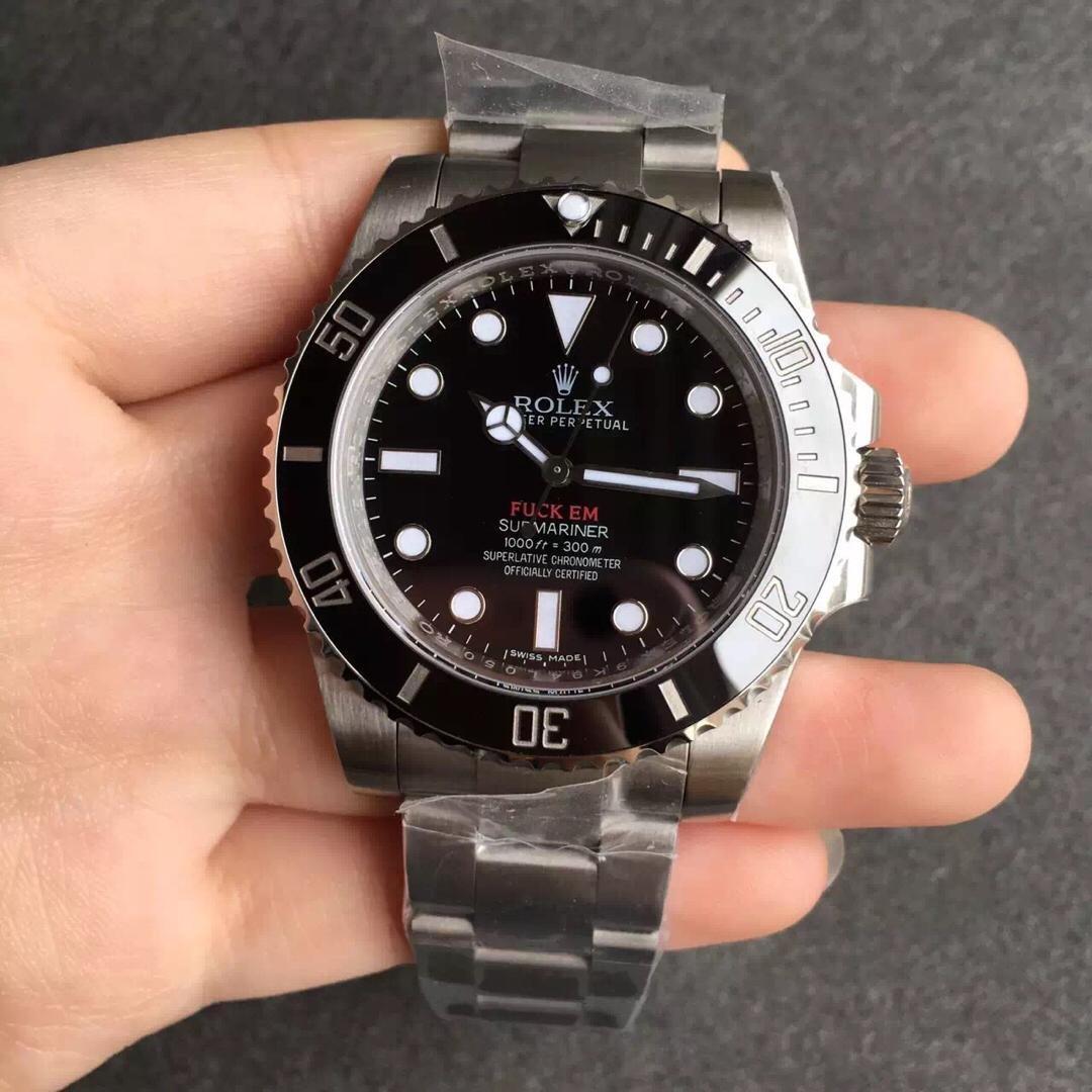 Replica Rolex Submariner 116610 LN Fuck EM