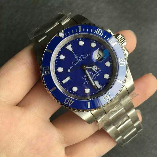 Rolex Blue Submariner 116619LB Replica