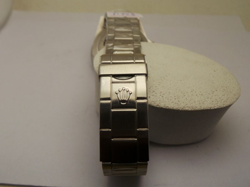 Rolex Crown Buckle in Steel