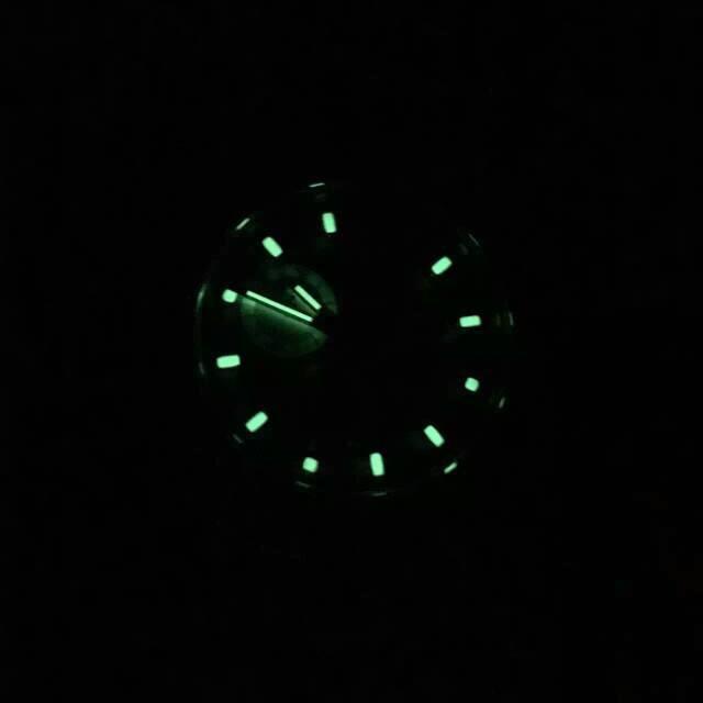 Rolex Daytona 116523 Dial Lume