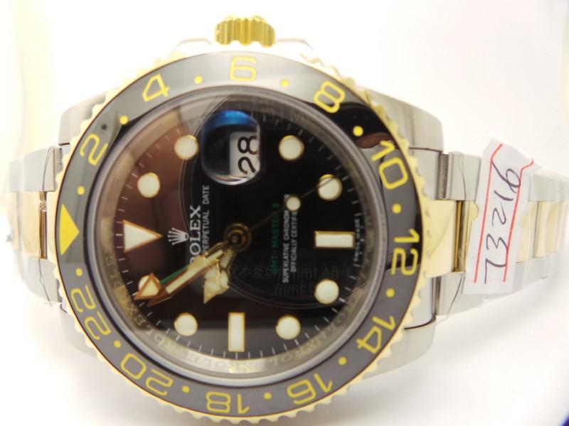 Rolex GMT 2 Black Dial