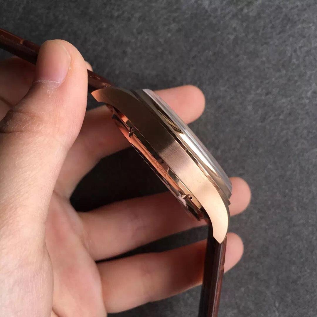 Rose Gold Case Brushed