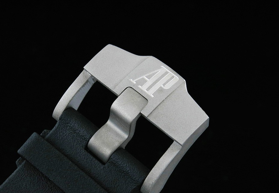 Sandblasted AP Logo on Buckle
