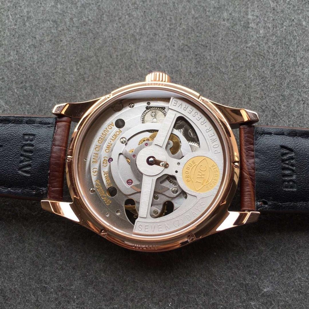 See-through Case Back of Portuguese Watch