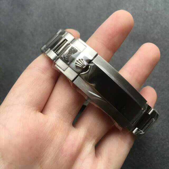 Steel Rolex Crown Buckle