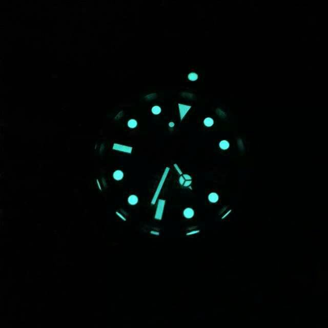 Strong Blue Dial Lume
