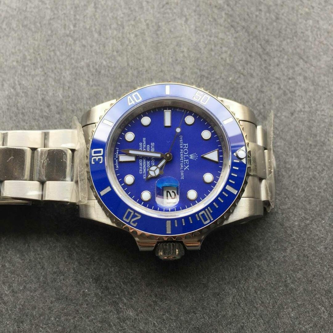 Submariner Blue Bezel