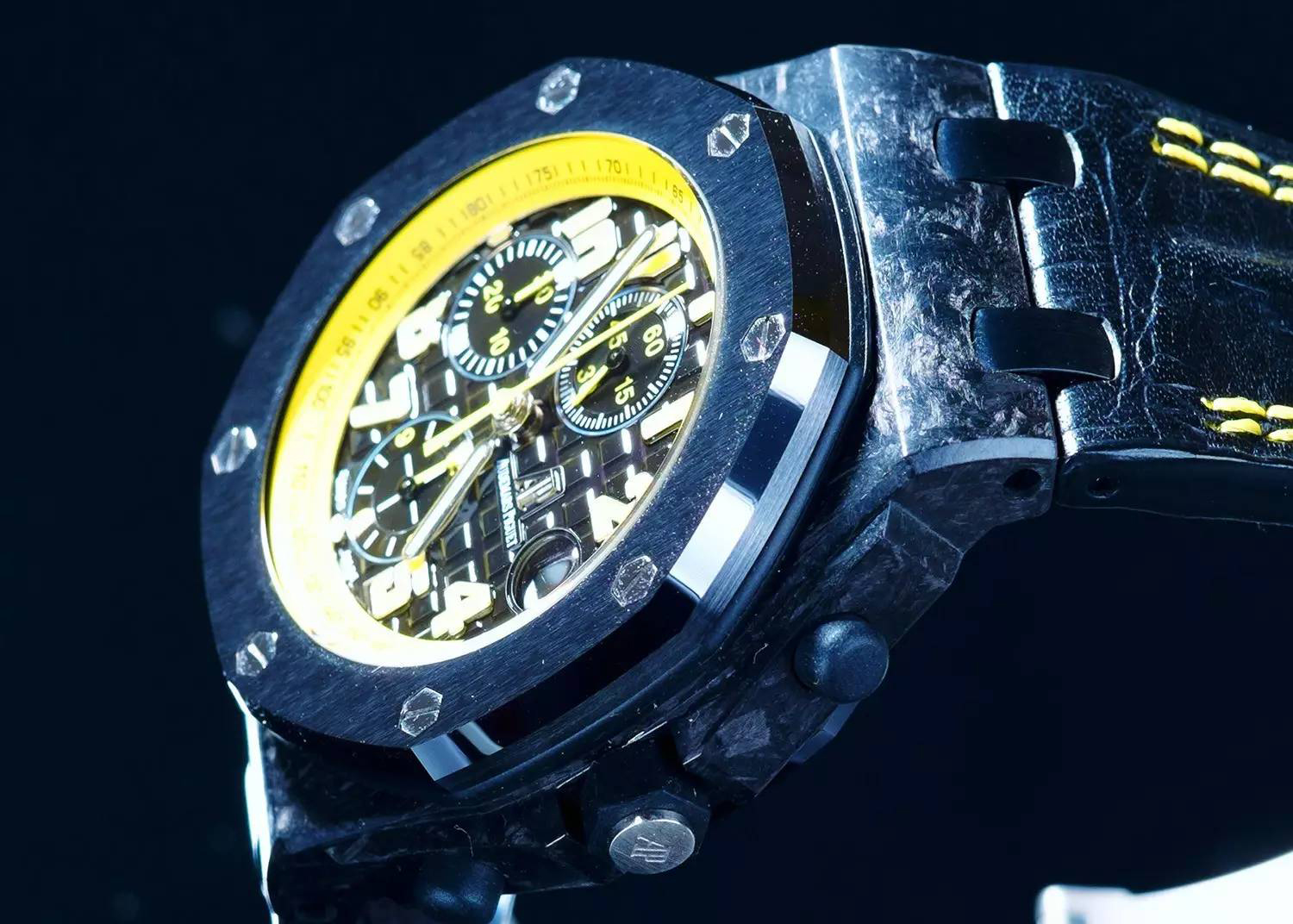 Audemars Piguet BumbleBee Forged Carbon Case