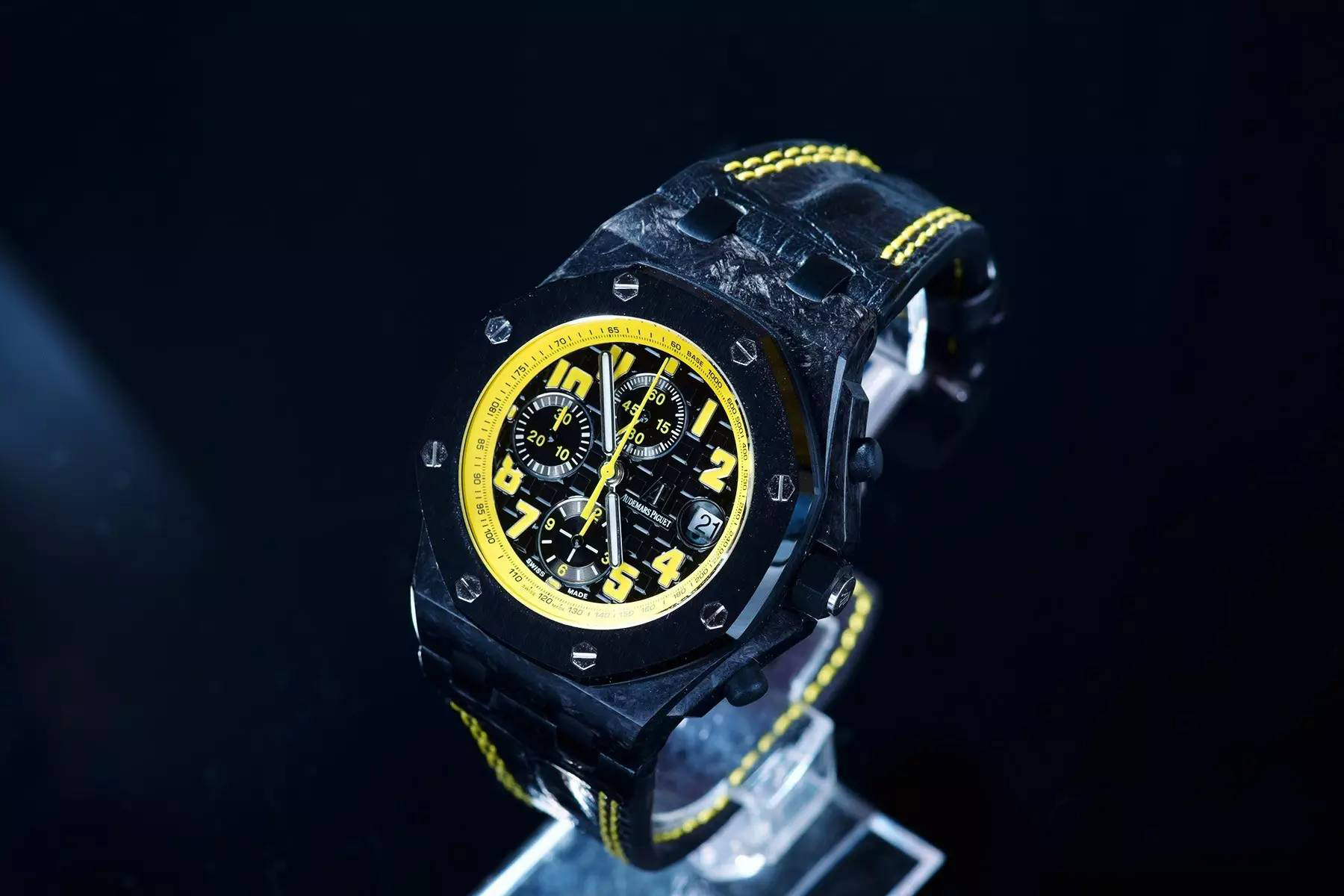 Audemars Piguet Yellow Watch