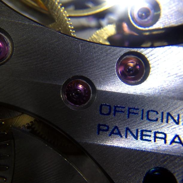 Blue OFFICINE PANERAI
