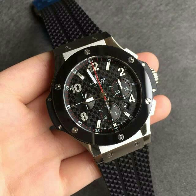 Hublot Big Bang Black Rubber Replica