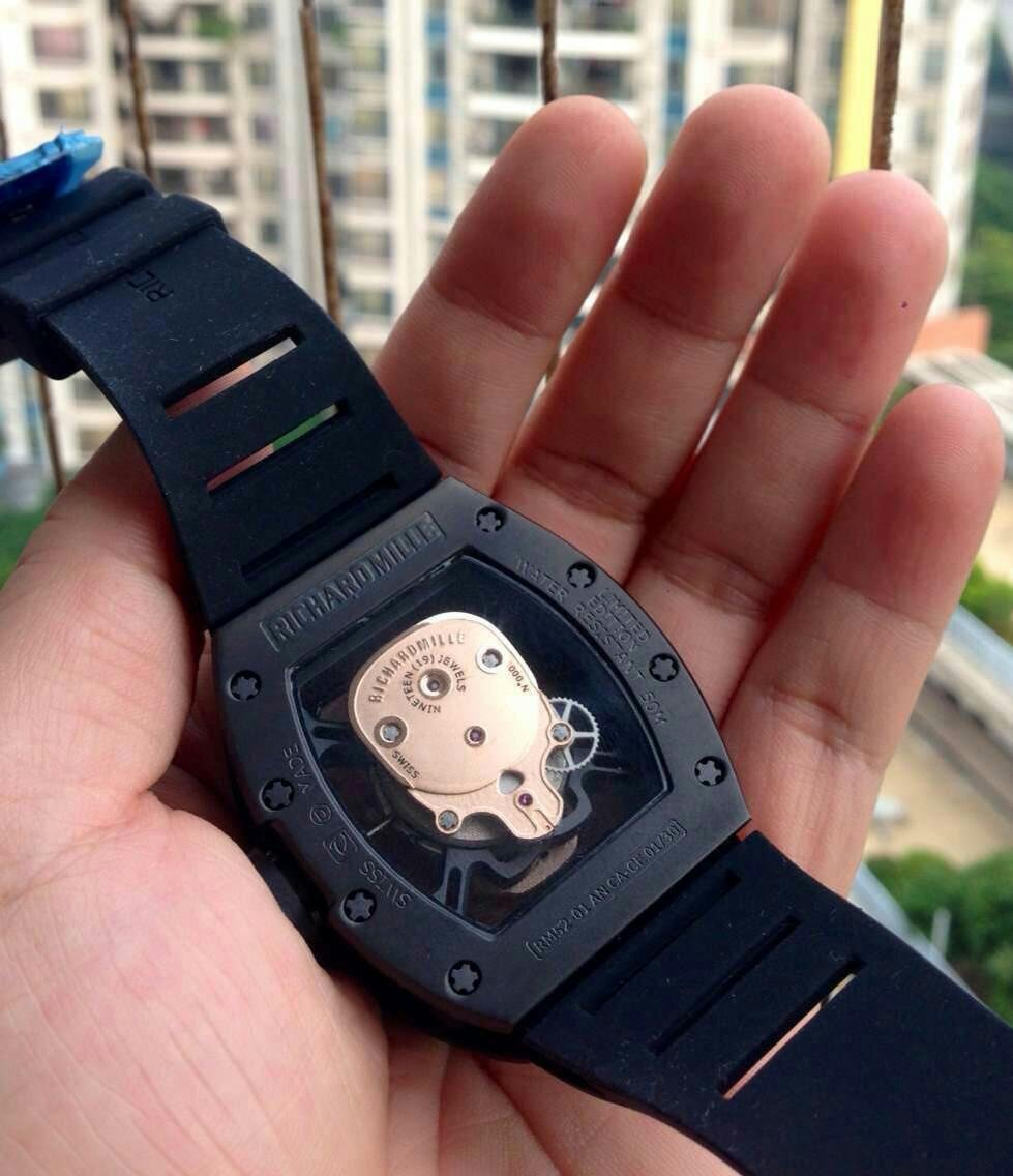 Richard Mille Crystal Back