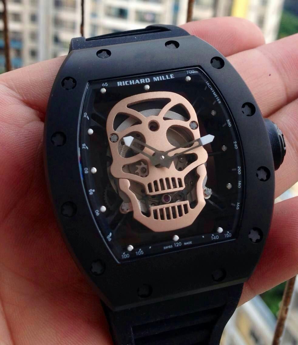 Richard Mille Skull Dial