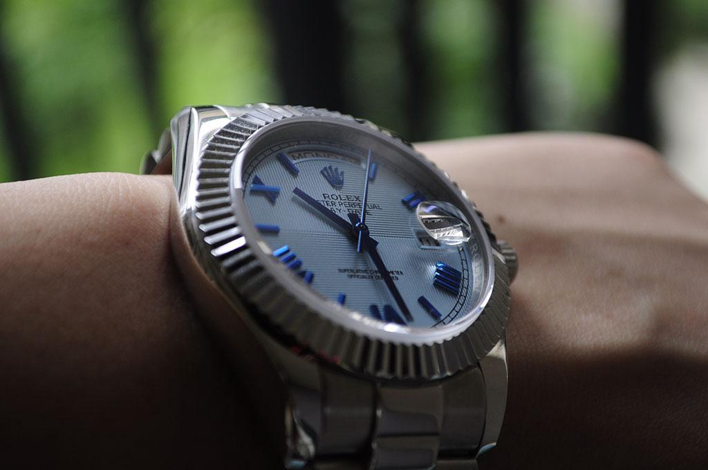 Rolex Day-Date 40 on Wrist