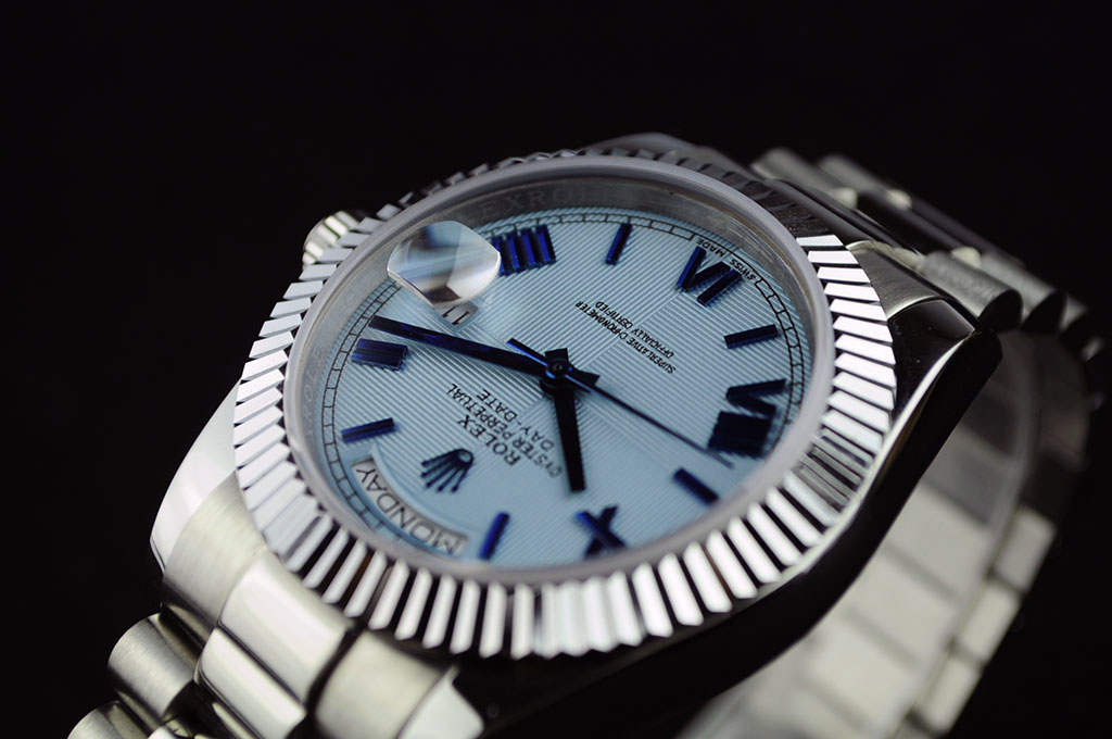 Rolex Rolex Day-Date Light Blue Dial