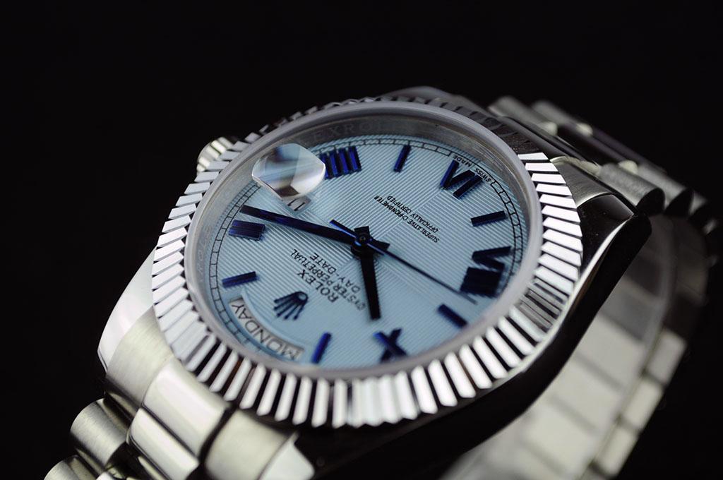 Rolex Rolex Day-Date Light Blue Dial