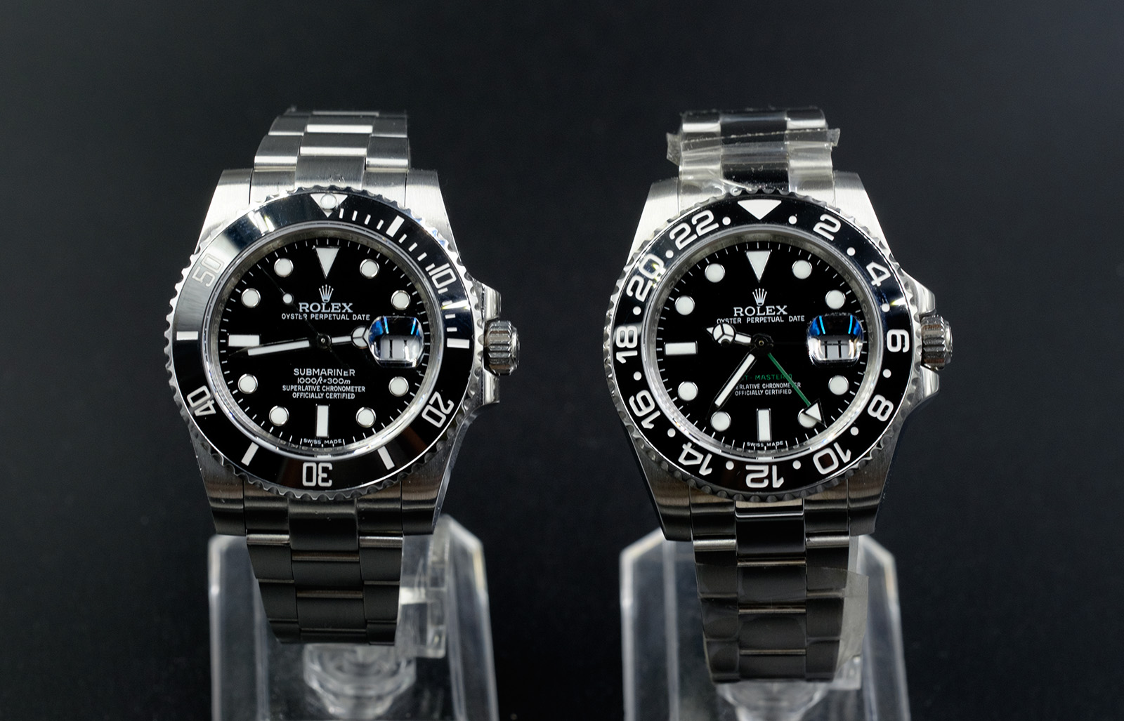 Submariner and GMT Master II