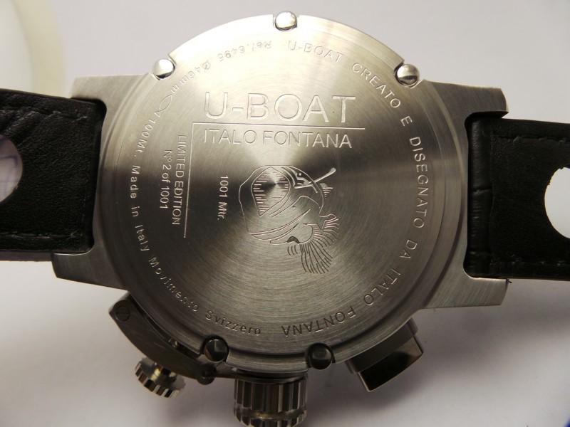U-Boat Caseback