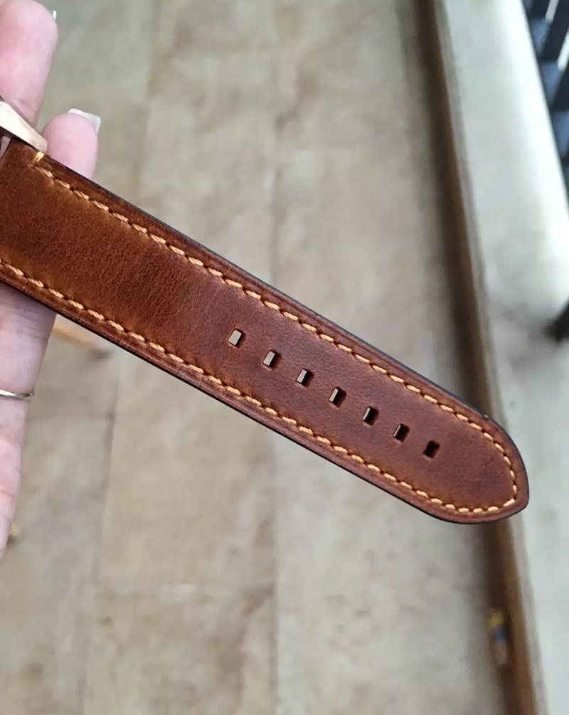 Vintage Brown Leather Strap Genuine