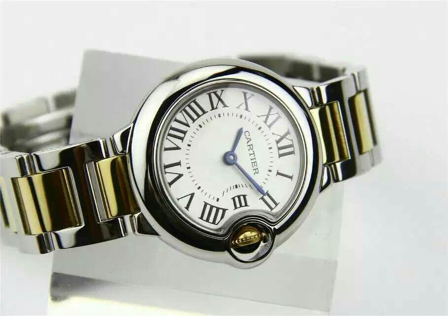 White Dial with Rome Hour Markers