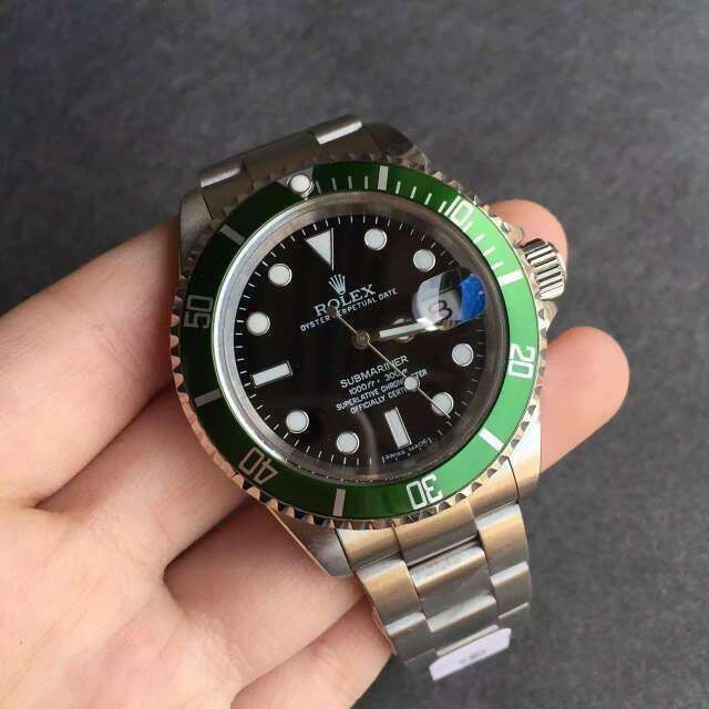 Rolex 16610LV Black Dial