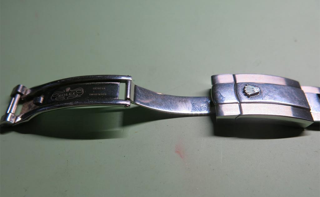 Rolex Clasp Unfolding