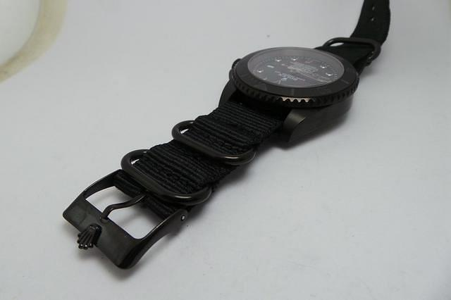 Rolex Stealth Submariner Black Nylon Strap