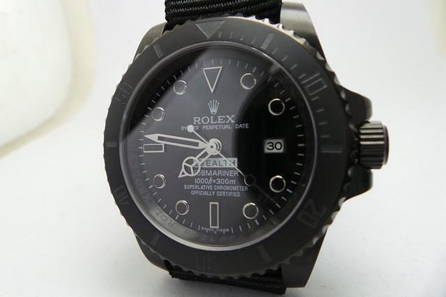 ghost watch rolex replica explorer edition from bamford ii stealth watches