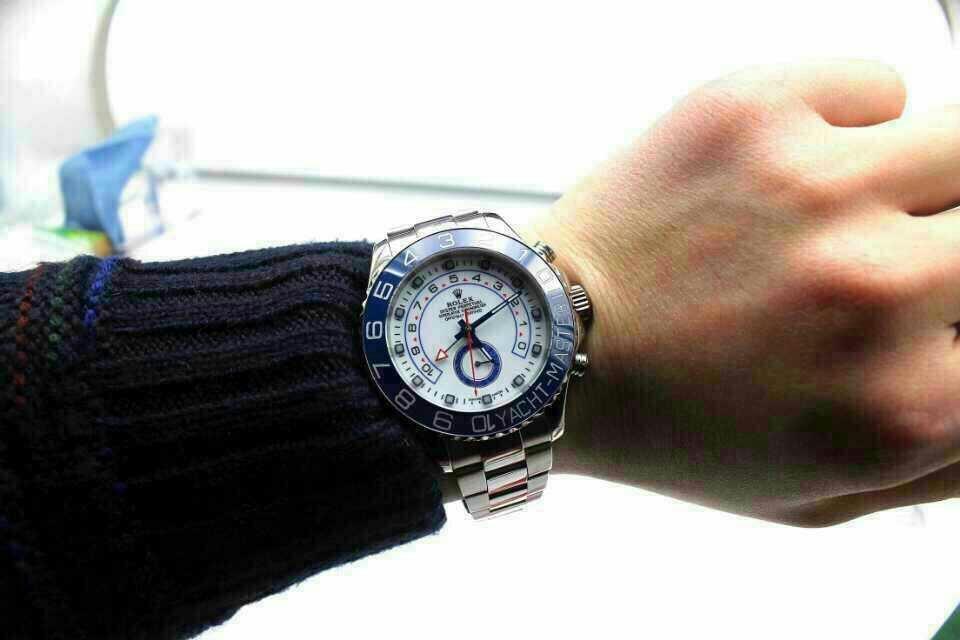 Rolex Yacht Master 116680 Wrist Shot