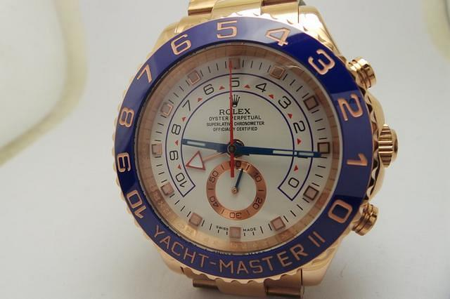 Rose Gold YachtMaster II