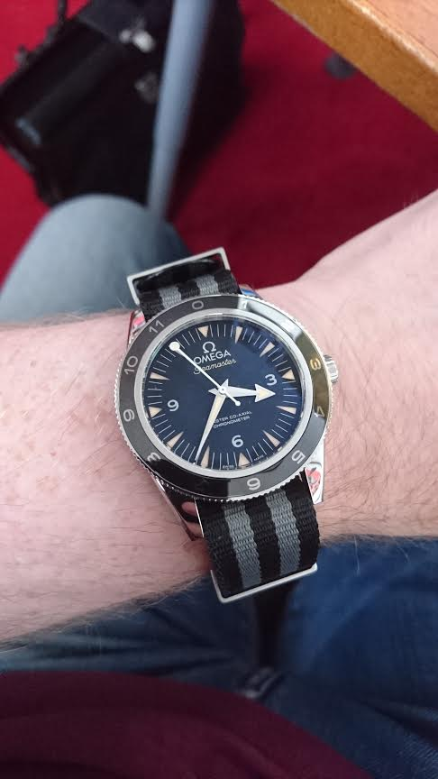 Omega 007 Nato Watch