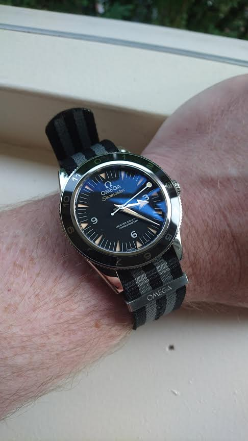 Omega Spectre Watch on Wrist