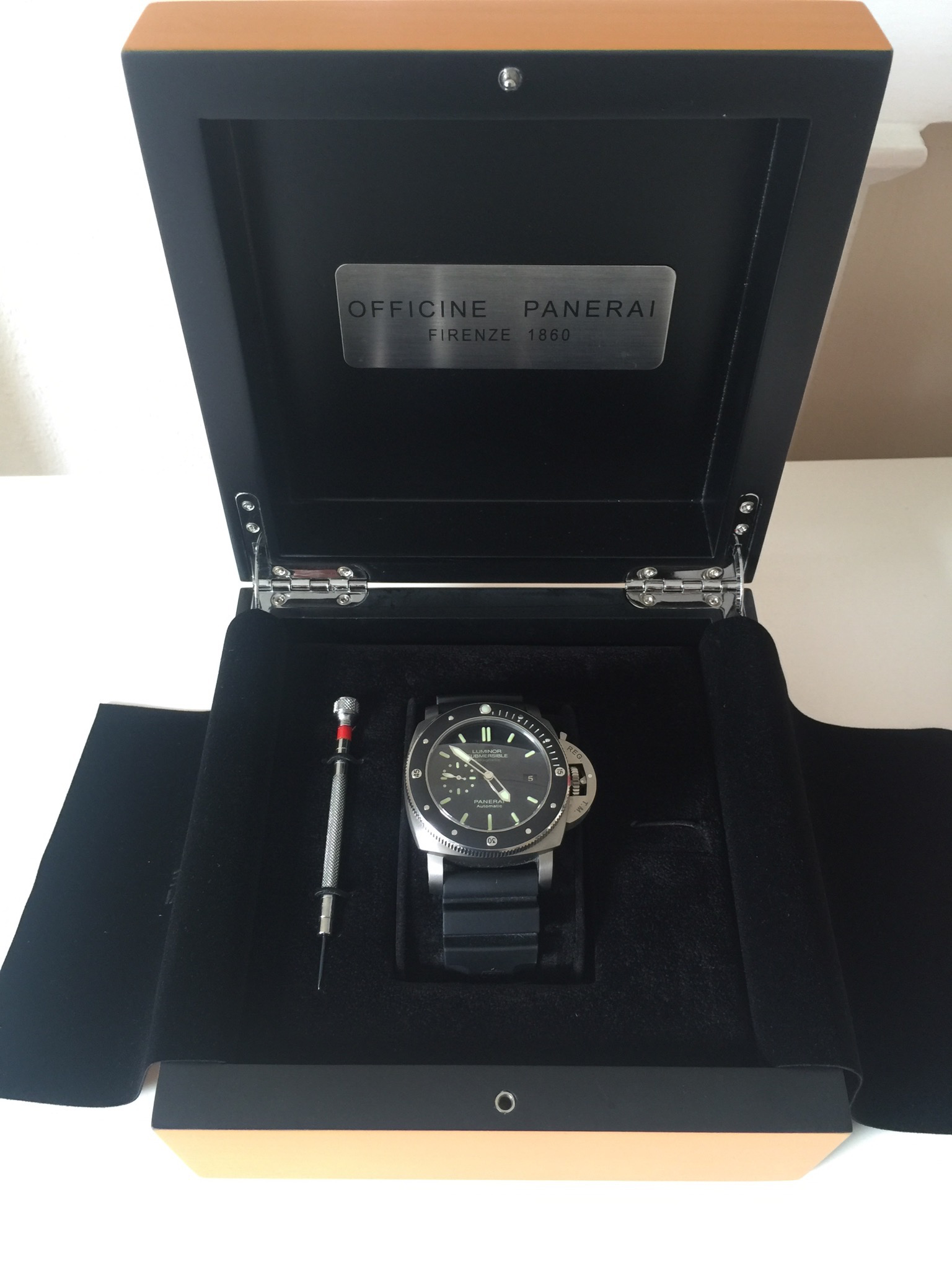PAM 389 in Box