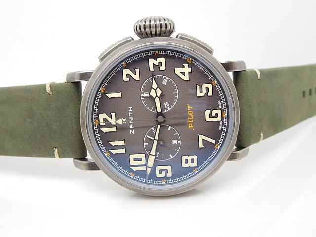 Zenith Pilot Grey Dial