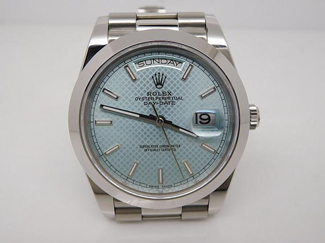 Replica Rolex Day Date Blue Watch
