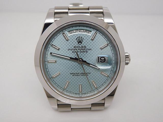 Replica Rolex Day Date Blue Watch