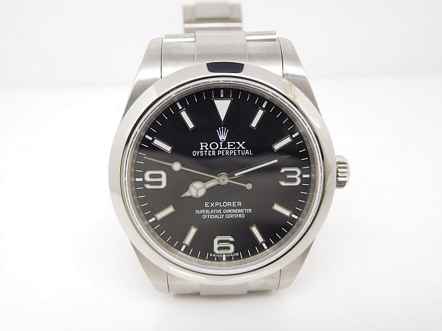Replica Rolex Explorer I Steel Watch
