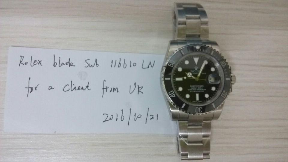 116610LN UK Order