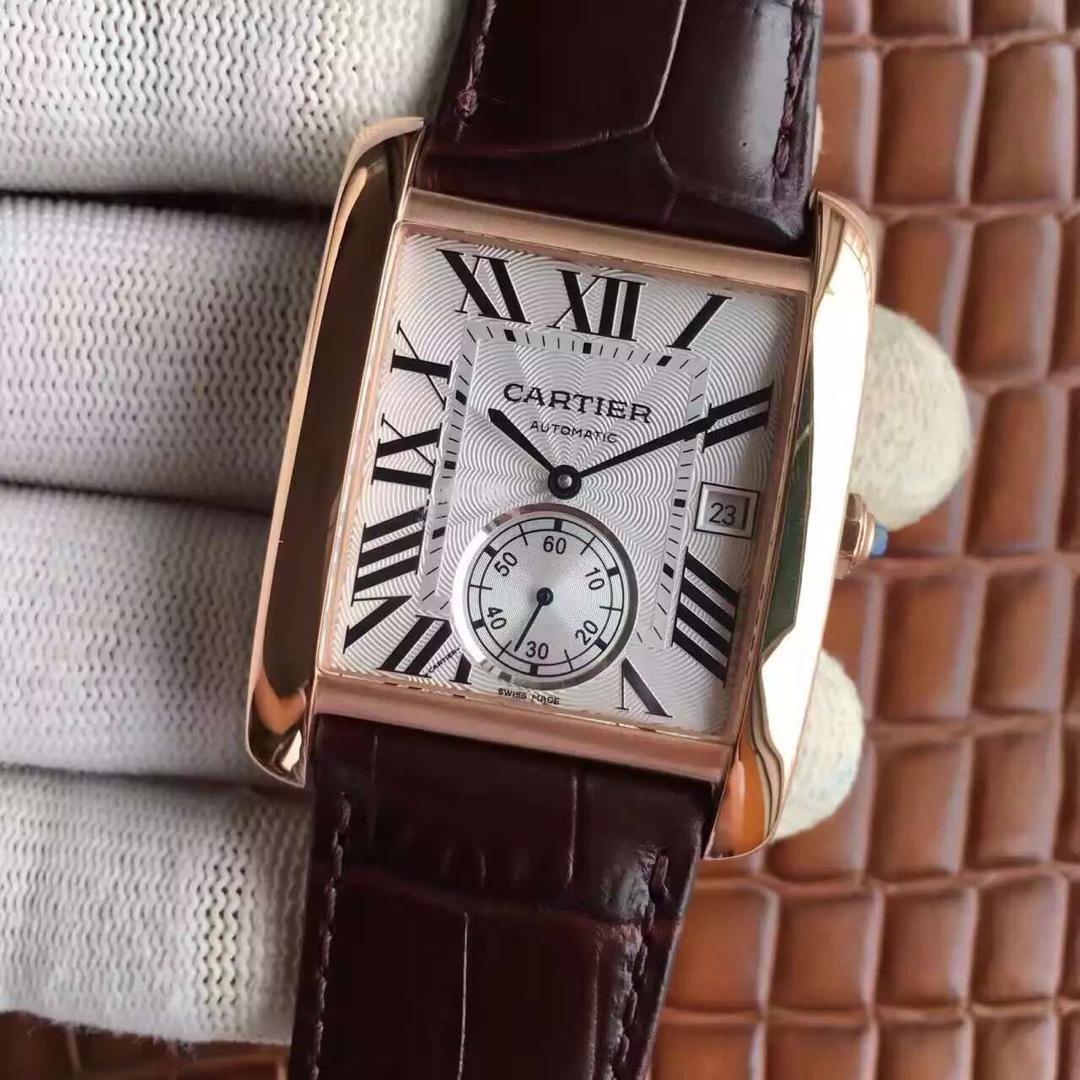 Cartier Tank White Dial