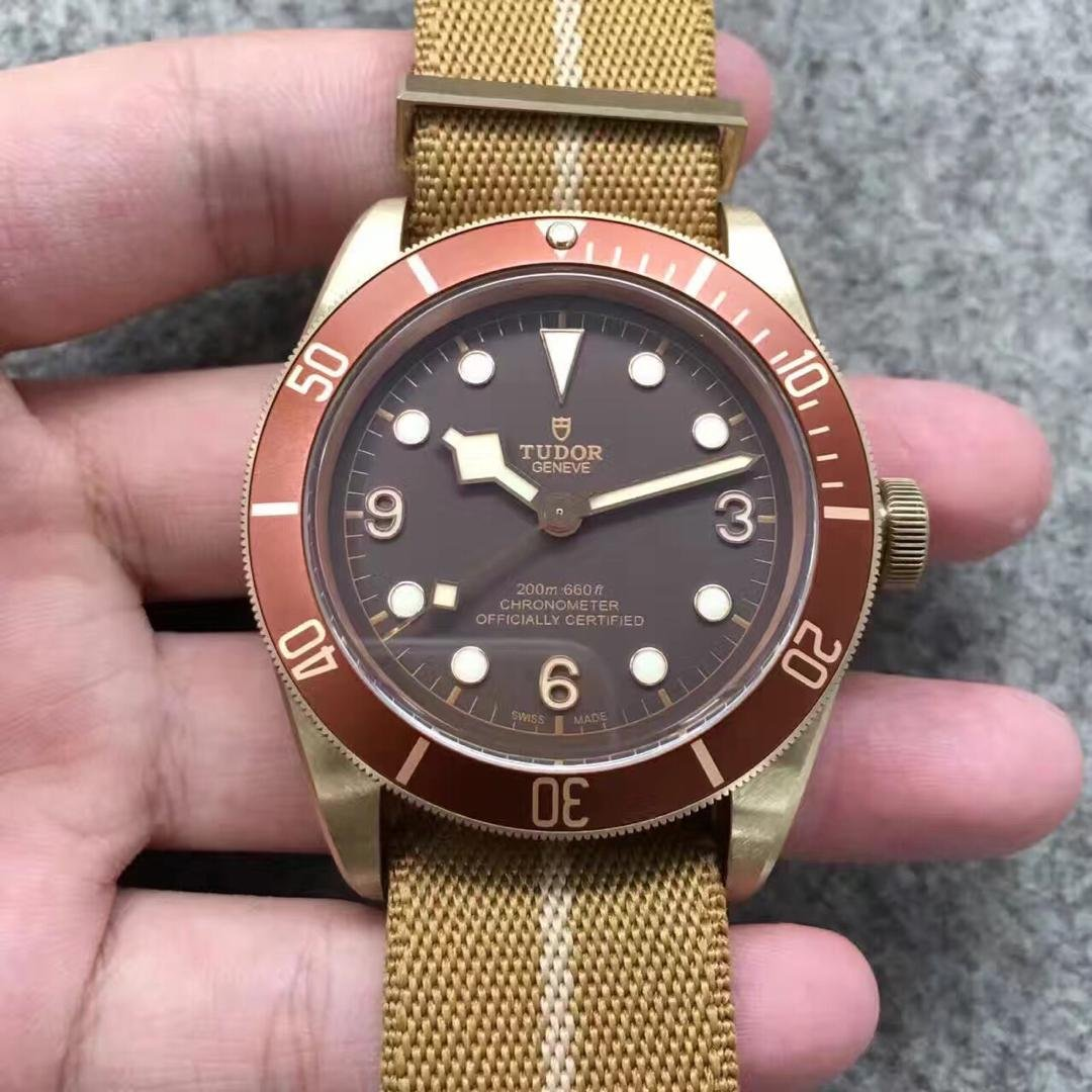 Tudor Bronze Watch Nylon Strap Replica