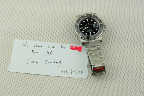 V7 Rolex Submariner 116610 LN Customer Order